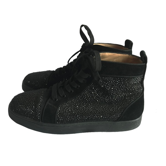 0fac2b055d18 Christian Louboutin Shoes - Authentic Christian Louboutin hightop gem  sneakers
